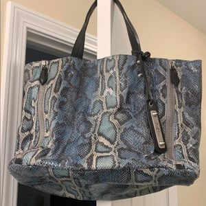 Sam Edelman faux snake purse EUC!!